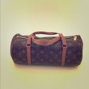 VINTAGE LV MONOGRAM MINI POPILLON 25